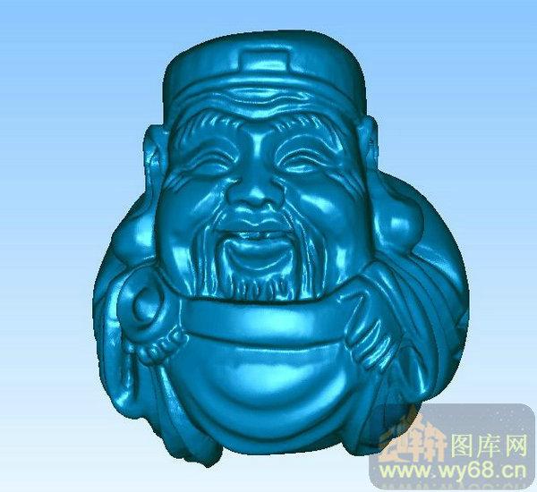小财神-三维雕刻素材