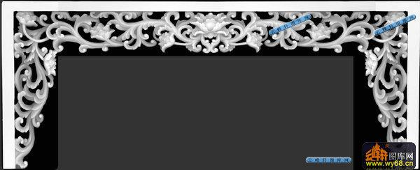 03-优雅花藤-015-花纹花边电脑雕刻图